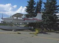 N115AW @ LHD - 1976 Cessna A185F SKYWAGON, Continental IO-520-D 300/285 Hp - by Doug Robertson