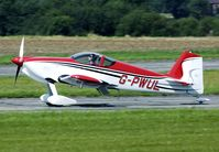 G-PWUL @ EGNW - A rare aircraft type on a rarely visited airfield.