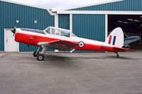 G-HAPY @ EGTB - Colour scheme of the ROYAL AIR FORCE - Serial No: WP803 - Registered Owner: ASTROJET LTD - by Clive Glaister