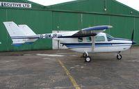 G-BMJR @ EGCS - Cessna T337H