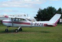 G-BAZS @ EGCF - Cessna F150L