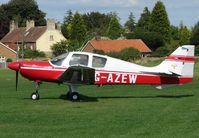 G-AZEW @ EGNF - Beagle B121