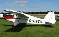 G-BYYC @ EGCS - Cygnet Sf-2A