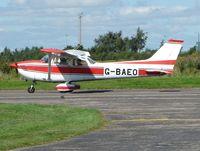 G-BAEO @ EGCF - Cessna F172M