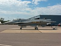 81-0807 @ MSP - General Dynamics F-16A Fighting Falcon Block 15H - by Timothy Aanerud