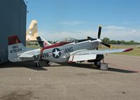 68-15795 @ MSP - Cavalier Aircraft F-51D Mustang.  Cavalier rebuilt North American P-51D Mustang, On display as 44-75024, Minnesota Air Guard Museum - by Timothy Aanerud