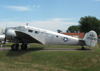 52-10884 @ MSP - Beech C-45H Expeditor, Minnesota Air National Guard Museum - by Timothy Aanerud