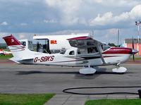 G-SBKS @ EGBO - Cessna 206H Stationair - by Robert Beaver