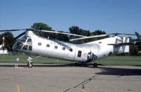 52-8676 @ OFF - CH-21B at the old Strategic Air Command Museum - by Glenn E. Chatfield