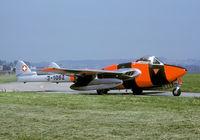 J-1082 @ LSME - One of the last active Vampires in Swiss Service. - by Joop de Groot