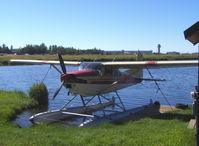 N118AH @ LHD - 1979 Cessna A185H SKYWAGON, Continental IO-520-D 300 Hp, Multiple certification - by Doug Robertson