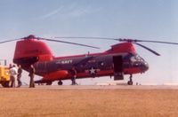 152508 @ FBG - CH-46D refueling at Ft. Bragg - by Glenn E. Chatfield