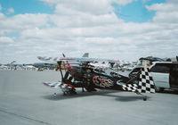 N540SS @ MTC - black biplane