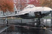 52-7259 @ YIP - RF-84 at Yankee Air Museum late 1980s