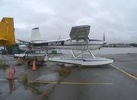 N116AK @ LHD - 1965 Cessna 180H SKYWAGON, Continental O-470 230 Hp - by Doug Robertson