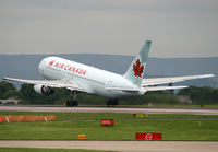 C-GDSY @ EGCC - Air Can on take off from 05L - by Kevin Murphy