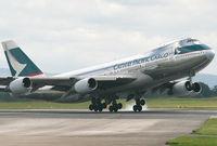 B-HMD @ EGCC - Cathay Cargo - by Kevin Murphy