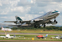 B-HMD @ EGCC - Cathay 747 - by Kevin Murphy