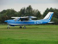 G-AZTF @ EGBD - Cessna F177RG