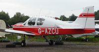 G-AZCU @ EGBD - Beagle B121 - by Terry Fletcher