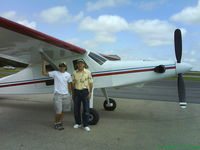 N95XX @ 47K - Comp Air 7SL by Aerocomp with owners Max and Blake at Moundridge, KS. Flew in from Oklahoma - by Al Pike