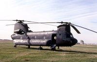 66-19136 @ DPA - CH-47B.  Later rebuilt as CH-47D - by Glenn E. Chatfield