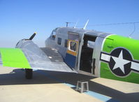 N314WN @ CMA - 1952 Beech C-45H, two P&W R-985 450 Hp each, cargo doors - by Doug Robertson