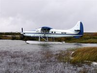 N87AW @ PABE - Parked at H-Marker Lake in Bethel, Alaska - by Martin Prince Jr