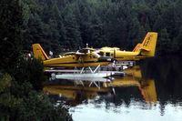 C-FOET - On Snake Lake in Algonquin Provincial Park - by Glenn E. Chatfield