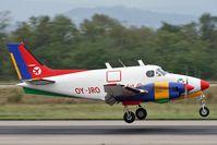 OY-JRO @ LFSB - landing on rwy 16 - by eap_spotter