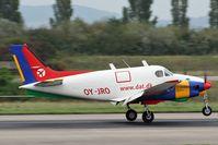 OY-JRO @ LFSB - nice littel bird landing rwy 16 - by eap_spotter