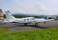D-GLAC @ QFB - Piper PA-34-220T Seneca V - by J. Thoma