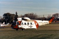 1394 @ DPA - HH-52A 1394 on a stop over with 1384 - by Glenn E. Chatfield