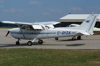 C-GYZA @ YXU - Parked at ESSO ramp. - by topgun3