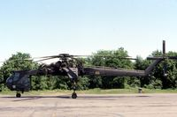 69-18465 @ BDL - CH-54B on the Army National Guard Ramp - by Glenn E. Chatfield