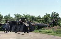 70-18485 @ BDL - When active as CH-54B 70-18485 - by Glenn E. Chatfield