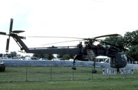 70-18486 - CH-54B at the Kenosha, WI Military Museum. The museum moved south and became Russell Military Museum