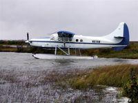 N87AW @ PABE - Turbo Otter awaits another flight Bethel Alaska - by Martin Prince, Jr