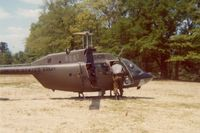 70-15436 - When active as OH-58A at Catherine Lake, NC on a field exercise - by Glenn E. Chatfield