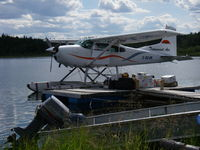 C-GCJM - A freight haul to a fishing lodge on Lake Athabaska - by N.Bernard