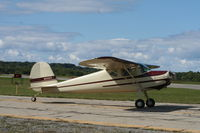 N2032V @ KBEH - Cessna 120 - by Mark Pasqualino