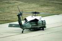 UNKNOWN @ CID - VH-60N, Marine One.  Taxied past before I got to see it, and the tail towards me did not allow me to see the serial. - by Glenn E. Chatfield