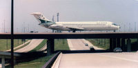 N985Z @ DFW - Ozark Airlines @1985