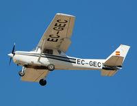 EC-GEC @ LEZG - On short final RWY 30R. - by Jorge Molina