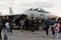 162710 @ YIP - F-14 at Willow Run cold airshow