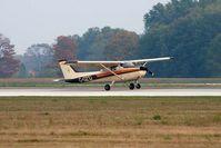 C-GZTJ @ YKF - Landing on Runway 25 at Waterloo Airport - by ShawnH