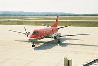 N438XJ @ PLN - MES2706 - PLN-DTW Starting up @ Pellston Regional Airport (PLN) - by Mel II