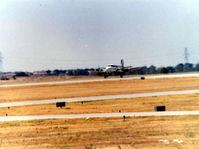 N10JP @ FTW - Emergency landing nose gear failure @1981 - by Zane Adams