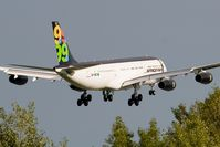 5A-ONE @ LOWW - Afriqiyah A340-200 - by Andy Graf-VAP