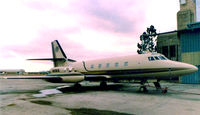 N99KR @ FTW - Lockheed Jetstar owned by Kenny Rogers